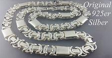 925 Sterlingsilber 13,25mm Königskette Flach Massive echt Silber Halskette 66cm