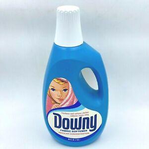 Vintage Downy Fabric Softener Bottle 1980s 85% Left of 64 oz Laundry TSH0