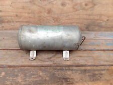 Cool Vintage Steel First Aid Tube with Mount