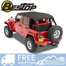 Bestop Bikini Safari Version 10-18 Jeep Wrangler Unlimited JK Black 52594-35