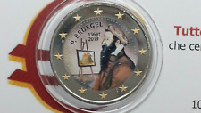 2 euro 2019 BELGIO color farbe couleur belgique belgium belgica belgien Bruegel
