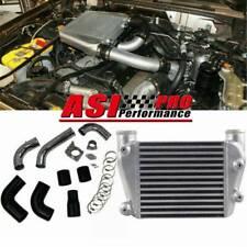 UPGRADE TOP Mount Intercooler Kit FOR 03-07 06 Nissan Patrol GU TD42 4.2L Diesel