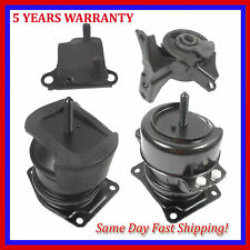 Engine /& Trans Mount 4PCS Hydr w// Vacuum Pin 98-99 for Honda Accord 2.3 for Auto