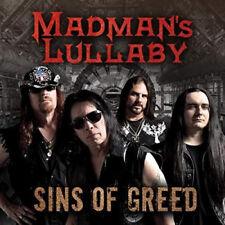 Madman's Lullaby - Sins Of Greed Import / CD 2018 / Hard Rock / Neu & Ovp !!!