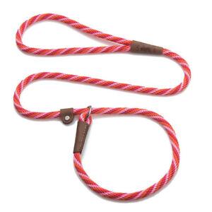 Mendota - Dog Puppy Leash - British Style Slip Lead - Taffy - 4, 6 Foot