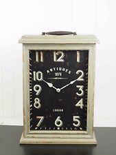 Vintage Wooden Mantle Clock 1870 London -2292