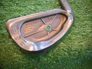 PING isi  Nickle  6 IRON left Hand Green Dot...GREEN DOT Stamped DEMO.