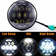 """5-3/4 5.75"""" inch 80W Daymaker Motorcycle Projector LED Headlight DRL For Harley"""