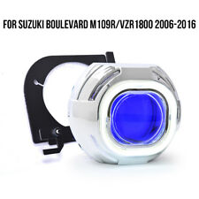 KT Halo Eye HID Projector Lens for Suzuki Boulevard M109R/VZR1800 2006-2017 Blue