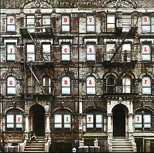Led Zeppelin - Physical Graffiti Vinyl 60's 70's Hard Rock Sticker or Magnet