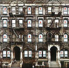 Led Zeppelin - Physical Graffiti Vinyl LP 60's 70's Hard Rock Sticker, Magnet