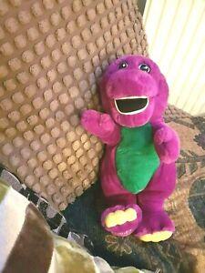 Barney the dinosaur toy