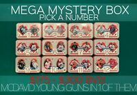 MEGA MYSTERY HOCKEY BOX -$175-$300 BV- AUTOS, JERSEYS, YG & MORE MCDAVID YG IN 1