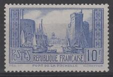 "FRANCE STAMP TIMBRE 261b "" PORT LA ROCHELLE OUTREMER PALE "" NEUF xx TTB  N349"