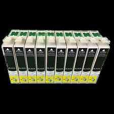 10x Nero cartucce per Epson SX110 SX115 SX215 SX210 SX218 SX400w SX405 SX410