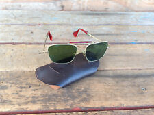 Cool Vintage Aviator Style Sunglasses in Case