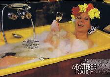 COUPURE DE PRESSE CLIPPING 1990 Les Mystères d'ALICE SAPRITCH (8 pages)