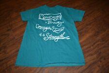 J8- Arkansas Children's Hospital Courage Short Sleeve Teal Shirt