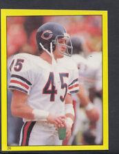 Topps 1982 football américain autocollant nº 26-Gary FENCIK, Chicago Bears (T57)