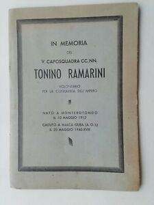 Libro CCNN Camicie nere MVSN Milizia AOI Africa Monterotondo Neghelli Santino