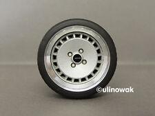 """99031-15 aleación ruedas 1:18 Ronal Turbo diseño 15 """"pn incluyendo logotipo, 4 orificios"""