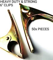 """MARKET STALL 6"""" CLIP HEAVY DUTY & STRONG CLIPS ( 50x PIECES )"""