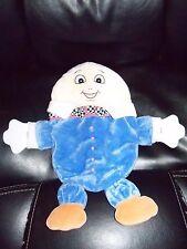 Htf Mother Goose Side Kicks Humpty Dumpty Plush Teether Baby Blanket Lovey Rare
