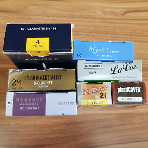 Bb Clarinet reeds - Various Makes (open boxes)