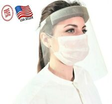 1x Safety Face Shield Clear Reusable & Washable Faceshield FaceMask Anti-Splash
