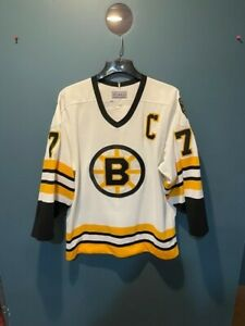 Authentic Ray Bourque Boston Bruins Old Style CCM Jersey - 48