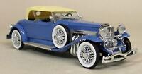 Rio 1/43 Scale - 45 Duesenberg SJ Torpedo Pheaton 1934 Blue Diecast model Car