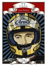 Joey Dunlop - Isle Of Man Tt Races Legends - Simply The Best - Classic A4 Art