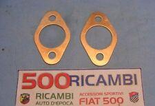 FIAT 500 F/L/R 126 COPPIA GUARNIZIONE IN RAME LATO SCARICO MARMITTA SPORTIVA