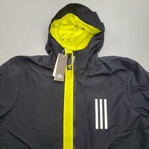 NEW Adidas Wind Jacket Windbreaker Men's XL Coach Warm GL8693 PrimeBlue $90