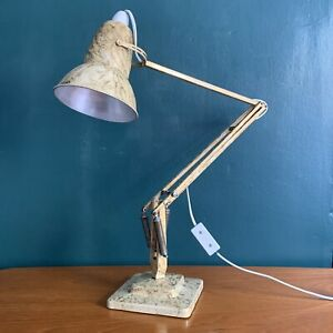 VINTAGE HERBERT TERRY ANGLEPOISE LAMP SCUMBLE 1227 Gold Marble A