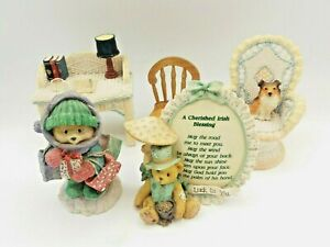 Selection Of Teddy Teddies Ornaments & Furniture Inc. Cherished Irish Blessing