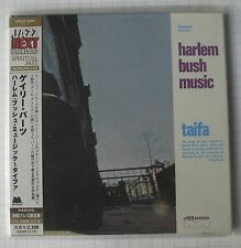 Harlem Bush Music GARY BARTZ NTU Troop-taifa Japon mini lp CD OBI NOUVEAU! UCCO - 9464