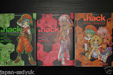 Japan .hack/Legend of Twilight Manga #1~3 Complete Set