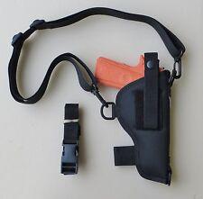 Bandolier Shoulder Holster for Glock 17, 20, 21,22,37 Autos Black Nylon