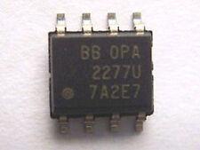 OPA2277U Dual Op Amp Hi Speed Lo Noise Amplifier SO-8 Surface Mount 3-Pack