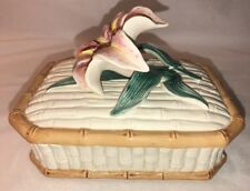 Vintage Fitz & Floyd Floral Trinket Box