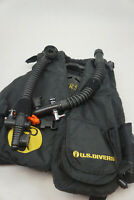 US Divers Size Small Basic jacket scuba diving Life Preserver BCD Black UNTESTED