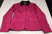 BARBOUR Quilted Jacket Pink Luxe Limited Edition Size 8/10 BNWT
