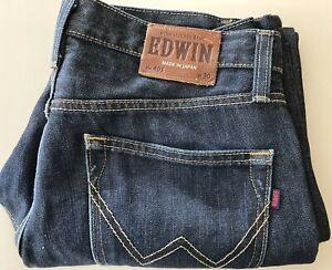 EDWIN 403 JEANS Made in Japan Mens Size W30 International Basic Denim Straight
