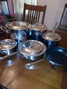Mauviel 1830 Stainless Steel 11 PC Set New