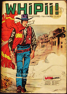WHIPII - BD - MON JOURNAL - WESTERN STYLE FRENCH COMIC - No 62 - AVRIL 1975