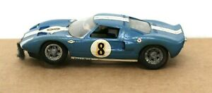 Vintage Cox Ford GT 1:32 Slot Car body and chassis (no motor)