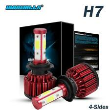 H7 LED Headlight Conversion Kit 1500W 225000LM High or Low or Fog Lights 6500K