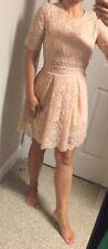 NEW! SEXY! Asos Lace Mini Dress Size 4 Very Stylish