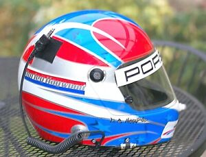 HURLEY HAYWOOD, BRUMOS PORSCHE RACING ,TRIBUTE DRIVERS HELMET, DAYTONA 24 HR,